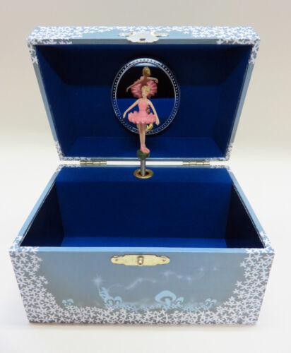 tanzende Ballerina und Sterne NEU Spieldosen süßes Schmuckkästchen Schatulle mit Spieluhr