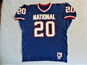 best service e53aa 45223 Details about Mitchell Ness M&N Detroit Lions Barry Sanders Pro Bowl  Authentic Jersey USA 52