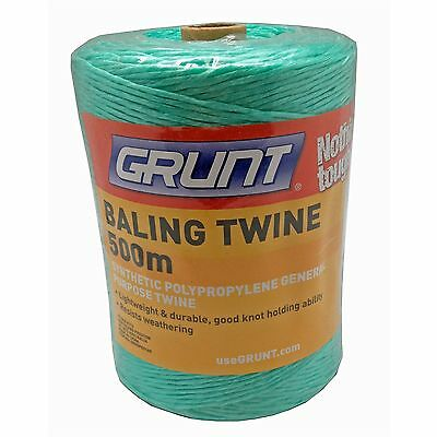 Baling Twine Bulk 1000 Metres 1km 2 x 500m Rolls Bailing Twine