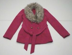 Miscela pelliccia A sintetica Pink Donna Poliestere in Byer Fuxia M Finiture vrqrw6Yzg