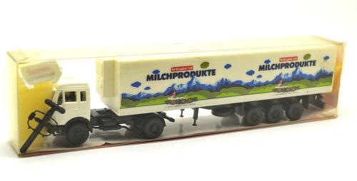 Roskopf 1:87 mercedes-benz 1217 ls refrigeración maleta-remolcarse//productos lácteos