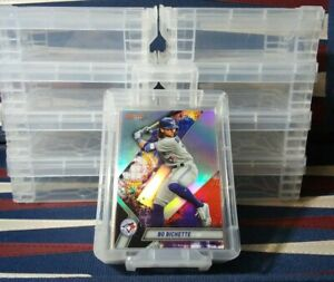 Baseball-Card-Storage-Vaults-HOLDS-50-SLEEVED-CARDS-NEW-STACKABLE-LOCKED-LID