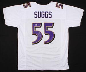 9d050d9b253e Terrell Suggs Signed Ravens Jersey (JSA COA) Baltimore s 7xPro Bowl ...