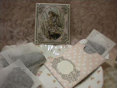 """Alice In Wonderland Tea//Seed /""""Mad Hatter/'s Tea Party!/"""" Bag Envelopes Qty-6"""