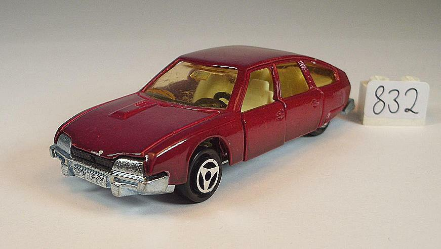 Majorette 1 60 Nº 265 CITROEN CX BERLINE ROUGE  832