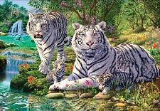 Jigsaw Puzzle Animal Wild Tiger Nirvana 1000 E Z Grip pieces NEW