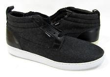 WESC Shoes Hagelin Wool Mid Melton Black Sneakers Size 9 EUR 42