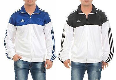 adidas Warm Up Jacket Trainingsjacke Herren weiß blau