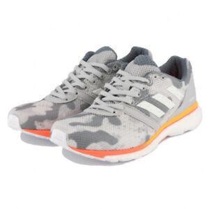 Detalles acerca de Adidas Adizero Adios 4 W, Mujeres Talla 7-10.5 (B),  Gris/Blanco/Coral EF1457 Nuevo- mostrar título original