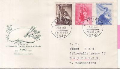 962-64 Fdc Aufbau Und Verdeitigung Cssr Tschechoslowakei Nr Europa