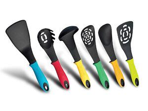 mestoli set 6 pezzi utensili da cucina gli indispensabili rl-nu6 ... - Utensili Cucina On Line