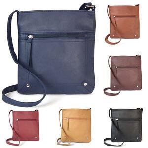 US-Women-Leather-Purse-Handbag-Cross-Body-Shoulder-Tote-Messenger-Bag-GIFT