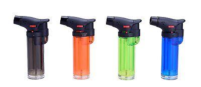 Aesy Briquet de Plein Air 1300 Degr/és Jet Crayon Cuisine Chalumeau Rechargeable Briquets Butane Gaz Combustion De Carburant Cuisine Briquet
