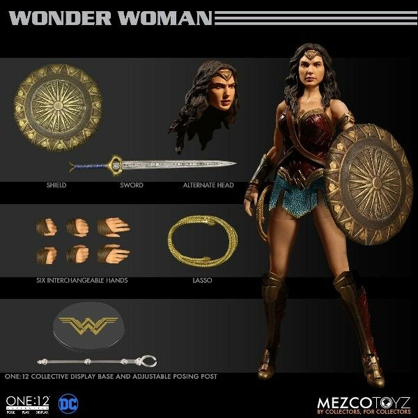 One 12 Collectif DC Comics Wonder Woman Film 6 in (environ 15.24 cm) Scale Figure NEW