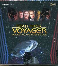 Star Trek Voyager Heroes And Villains Factory Sealed Box