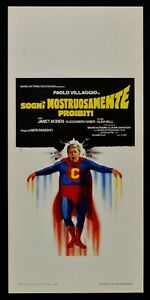 Plakat-Traeume-Ungeheuer-Verbotene-Paul-Dorf-Superman-Fantozzi-N20