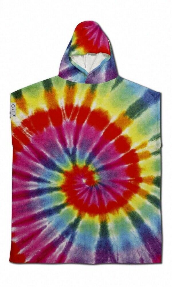 Leus Poncho Toalla - Tie Dye - Grande