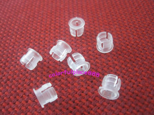 1000pcs 5mm White Plastic ABS LED Bezel Holder Holders Panel Display for 5mm LED