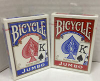 Bicycle Jumbo Index Playing Cards - Set Of 2 -