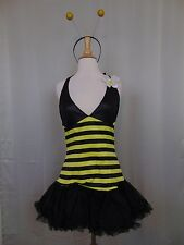 Sexy Leg Avenue Bumble Bee Costume Halloween Dress Headband Ladies Size M/L #471
