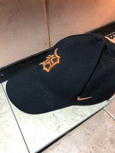 581cb61e Details about Nike Detroit Tigers Wool Classic99 Adjustable Performance Hat  Orange Dri Fit
