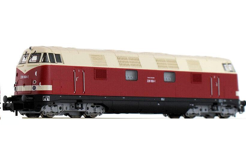 Fleischmann Scala N 721402 Loco Diesel BR 228 168-1  DR NEW OVP