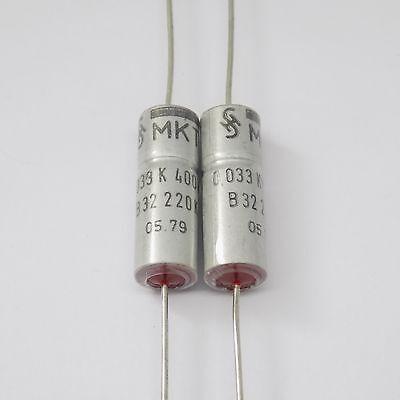 vintage capacitor CRC 0.033UF//400V LOT OF 25