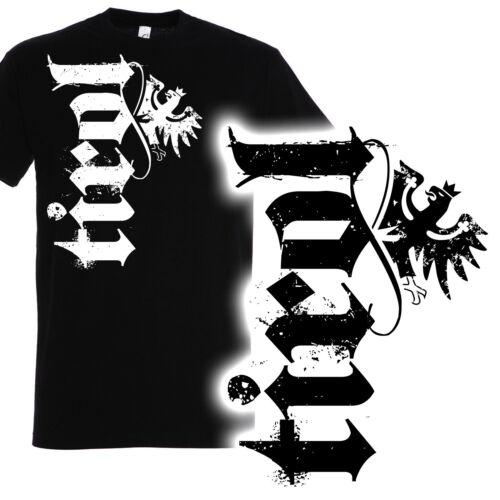 Herren T-Shirt TirolSchriftzug Retro Vintage Design Tiroler Patriot Bua