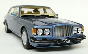 GT-Spirit-1-18-Scale-Bentley-Turbo-R-LWB-Light-Metallic-Blu-Resin-cast-Model-Car