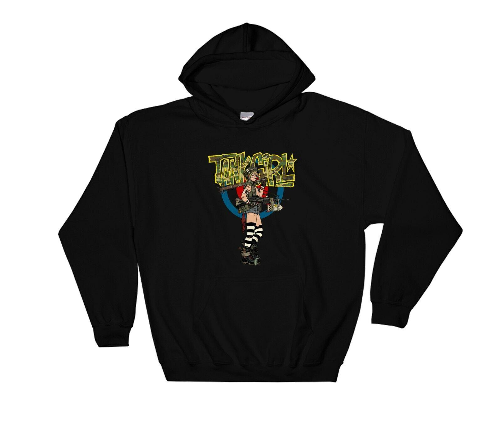 Ace of Spades Alternative Tank Girl Hoodie Sweatshirt Jumper Pullover 6083