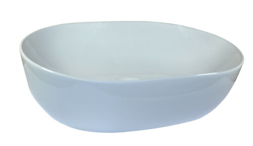 1 Lavabo Céramique Rectangulaire Ovale lavabos Salle de Bains Lavabo dissertation