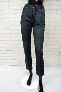 Pantalone-Donna-ROCCOBAROCCO-Taglia-Size-25-Jeans-Alto-in-Vita-Pants-Woman