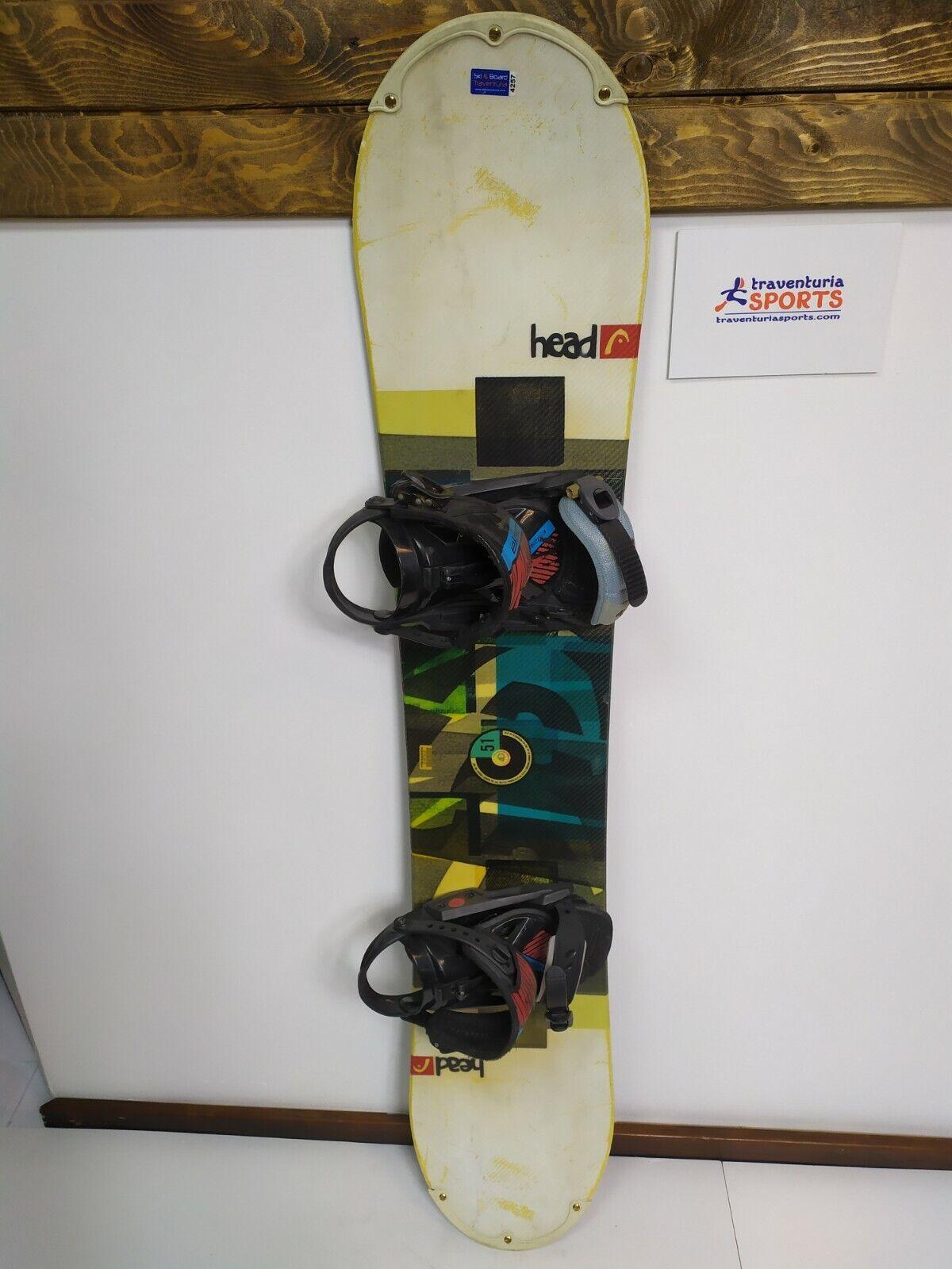 158 cm Yellow HEAD Unisex Defy Rocka Snowboard