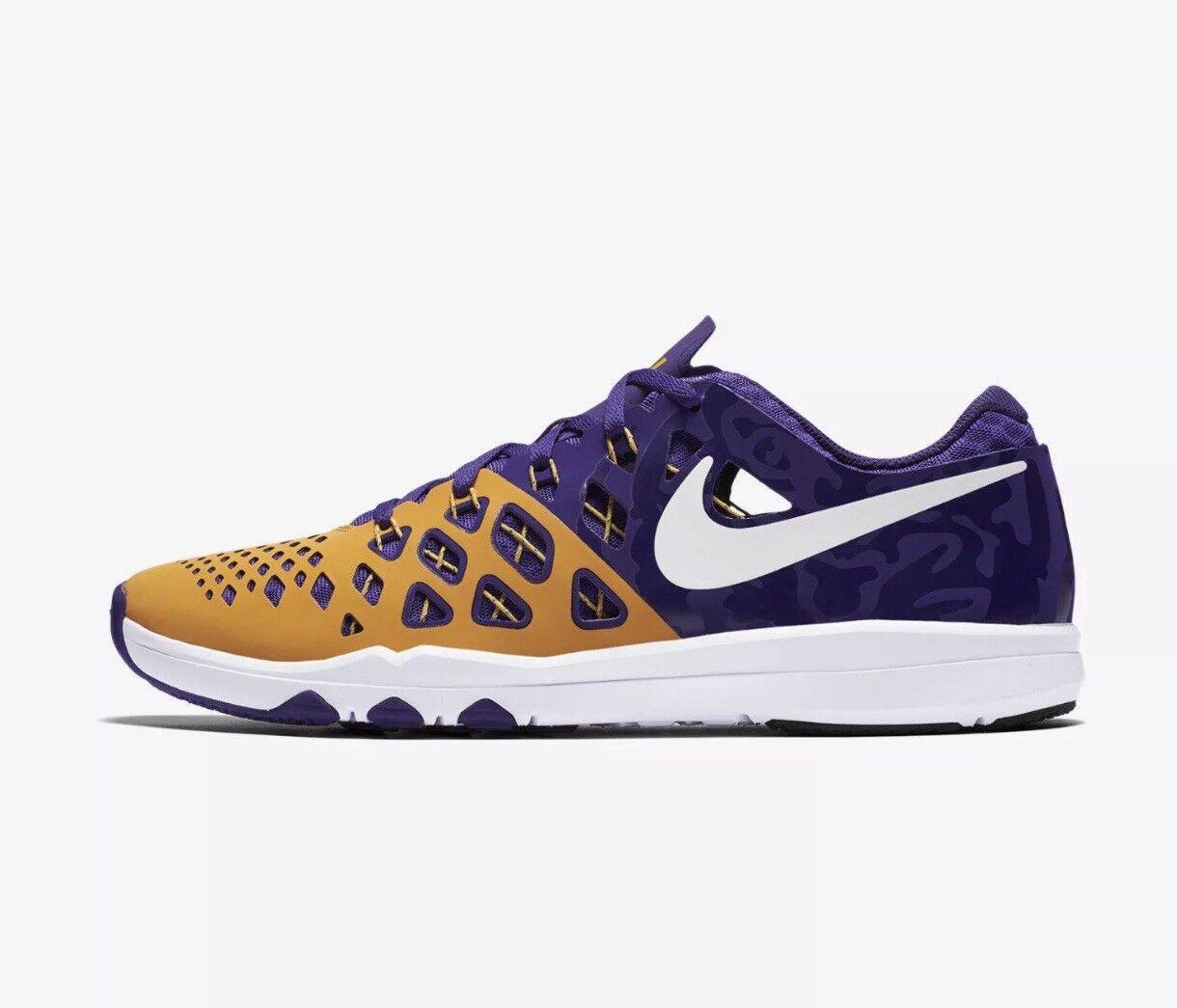 New Men's Nike LSU Tigers Training Tennis shoes