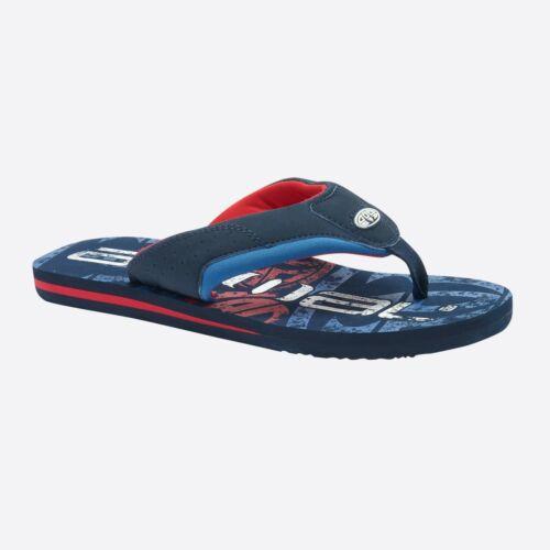 Jekyl Logo Bleu Marine Soft Toe Post Tongs Sandales 9 S 7//F Animal Pour Homme Flip Flops