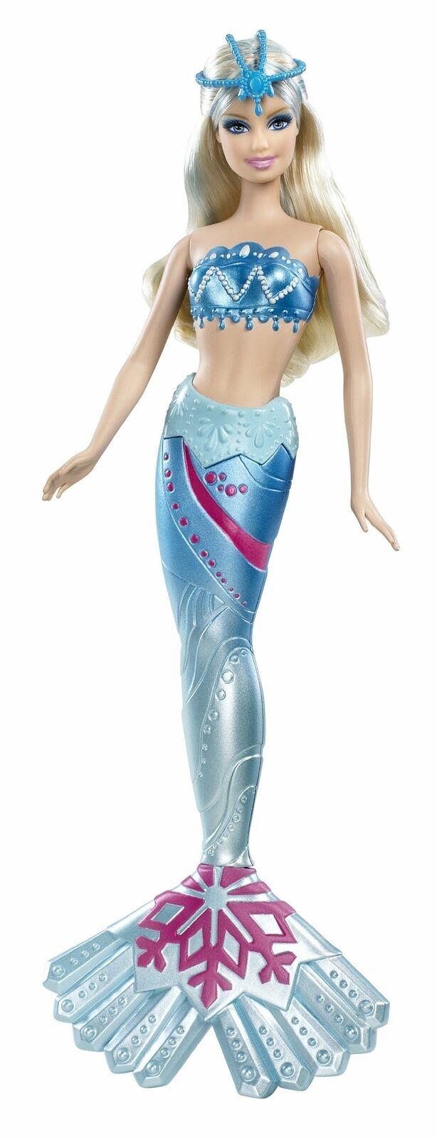 Barbie en un cuento de Sirena 2 Sirena Muñeca del Ártico