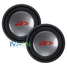 "(2) ALPINE SWR-1542D 15"" Type-R DUAL 4-OHM CAR AUDIO SUBWOOFERS SUB WOOFERS PAIR"