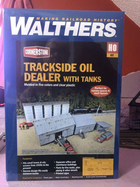 Walthers 933-3197 Modulars Storage Tanks kit HO Scale 1//87 New