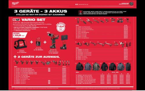Milwaukee Akku-Tacker M12 BST-202X mit 2 x 2,0 Ah Akku 1x Ladegerät in HD-Box