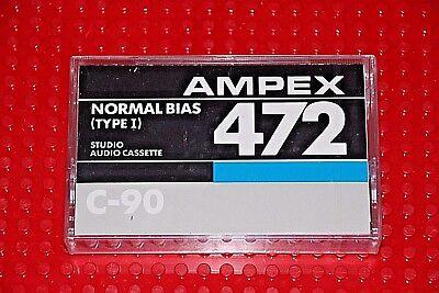AMPEX  472  TYPE I    90   BLANK  CASSETTE TAPE SEALED 1