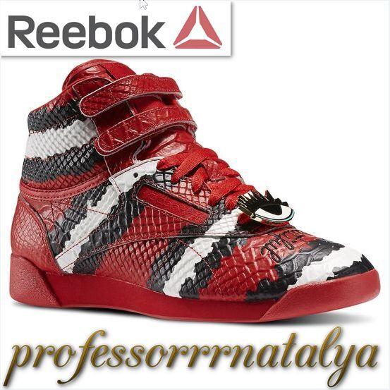 Reebok X melodía Ehsani Freestyle Zapatillas Hi Hi Hi para mujer (rojo Rush Tiza Negro)  Más asequible
