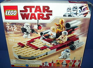 LEGO 8092 STAR WARS ~ LUKE'S LANDSPEEDER HTF NEW SEALED retired