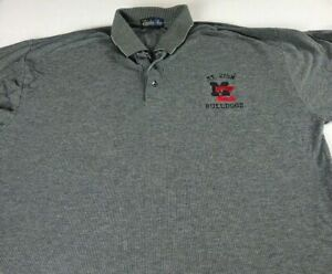 Mt Zion Bulldogs Polo Shirt VTG 90s Mens Large Jonesboro Georgia High School