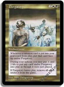 4 PLAYED Purgatory - Gold Mirage Mtg Magic Rare 4x x4