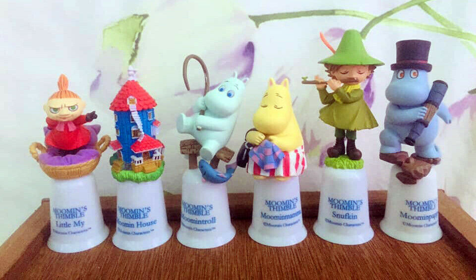 Collection de 6 figurines - LES MOOMINS - Moomin Valley Moominland Tove Jansson