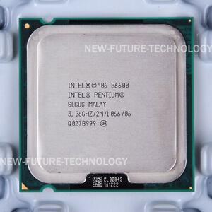 Intel Pentium Dual-Core E6500K SLGYP LGA 775 2.93 GHz 1066 MHz CPU Processor