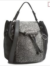 Brand New Women's Diesel Averas Day & Night Leather Handbag Grey&Black RRP £340