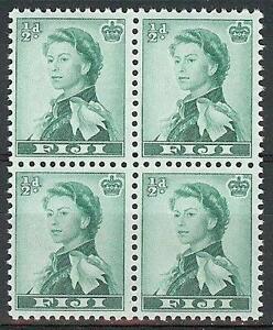 Fiji-1961-Sc-163-Queen-Elizabeth-block-4-MNH