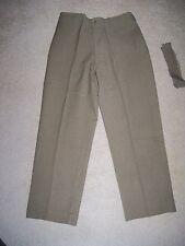 WW2 Era US Army Trousers OD Special Light Wool Mustard Pants M1937  34 x 3o 1942