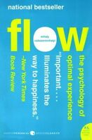 Flow: The Psychology Of Optimal Experience (harper Perennial Modern Classics) By on sale